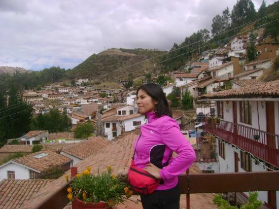 Samay Wasi Youth Hostels Cusco: Vista desde el Hostel