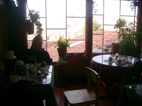 Samay Wasi Youth Hostels Cusco: Desayunador