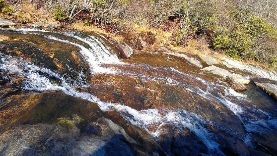 North Carolina Mountains, NC: Graveyard Fields Upper Falls