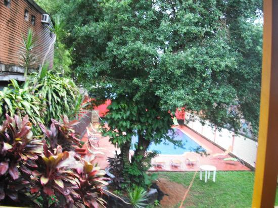 Hostel Park Iguazu: vista desde la habitacion 