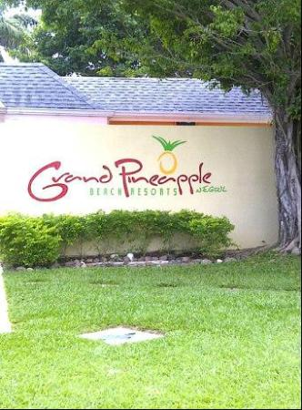 Grand Pineapple Beach Negril : The wall of love