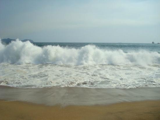 Manzanillo Bay: Beautiful waves