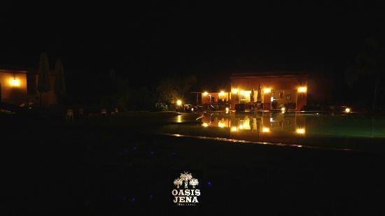 Oasis Jena de nuit