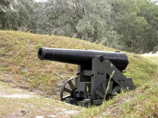 Fort McAllister State Park: Cannon