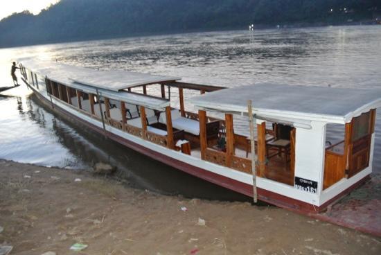 Belmond La Residence Phou Vao: Long boat du Phou Vao