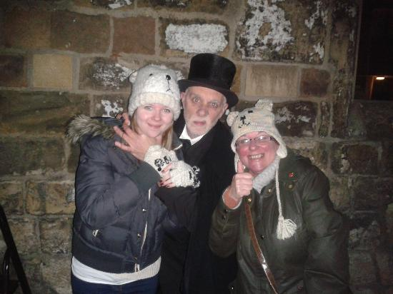 2 satisifed ghost hunters with the Ghost Hunter himself - Picture of