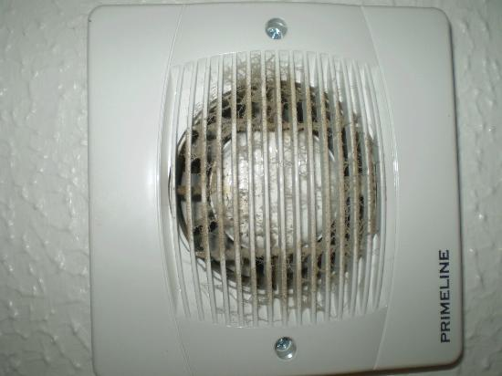Bathroom Extractor Fan In Need Of A Clean Picture Of Golden Coast - How to clean bathroom fan