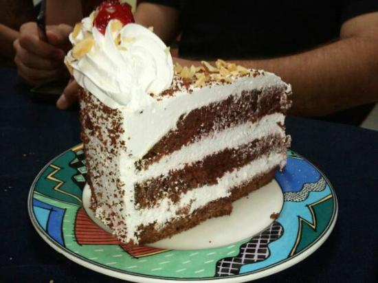 Gran Hotel Nacional: Chocolate Cake