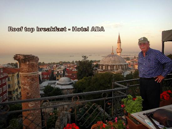 Ada Hotel Istanbul: Roof top breakfast views