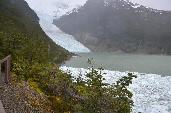 Hostal Dos Lagunas: Glaciar Balmaceda