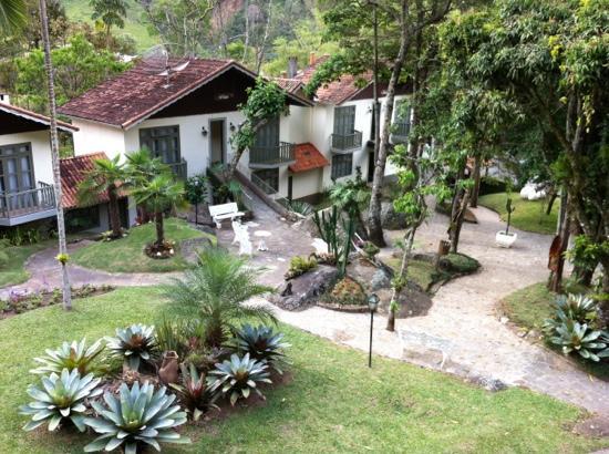 Hotel Vila Verde: Vista do chalé