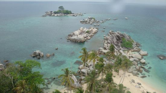 Belitung Island, Indonesia: Lengkuas island