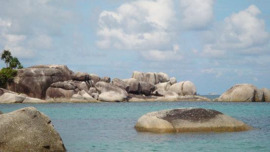 Belitung Island, Indonesien: Granite rock , Tanjung Tinggi