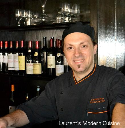 Laurent's Modern Cuisine: Meet Chef Laurent Rea