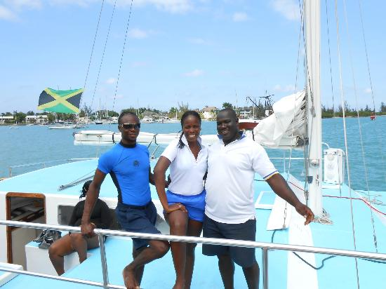 Jamaica Water Sports: Malcolm, Patrice, and Captain Glenn - the best!!
