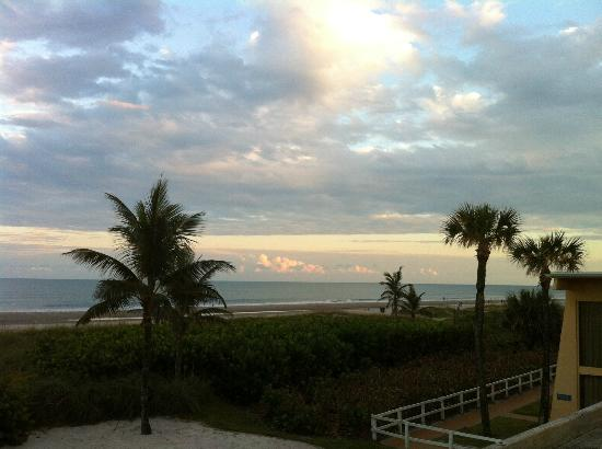 International Palms Resort & Conference Center Cocoa Beach: the view from the beach restaurant Mambos