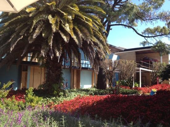 Hotel b¨o: Garden view