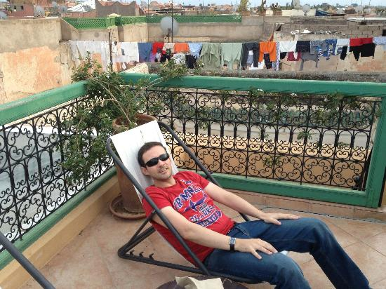 Riad Karmela: Private Roof top terrace