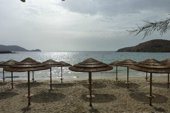 Hotel Benois: la plage face à l'hôtel