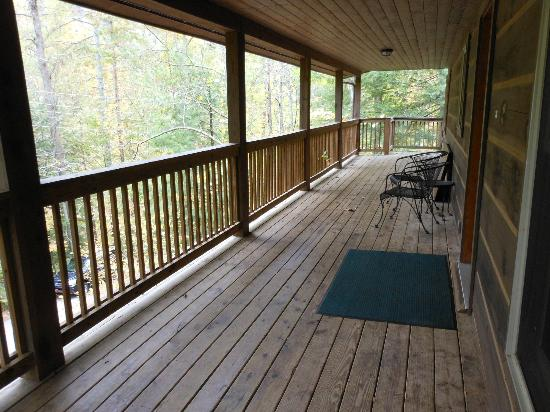 Natural Bridge State Resort Park: Veranda
