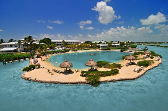 Duck Key, فلوريدا: Hawks Cay Saltwater Lagoon