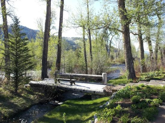 The Ranch at Rock Creek: Perfect place to read and relax