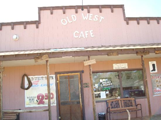 Old West Cafe: Small town cafe