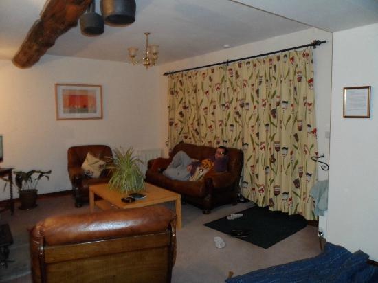 Laskill Grange: Living area