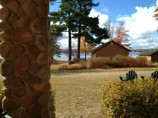 Sugar Lake Lodge: View from the suite