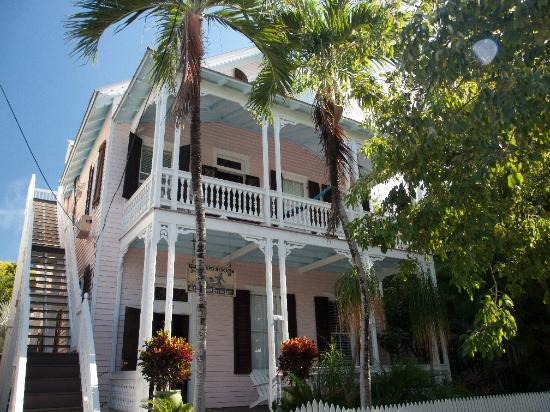 Key West Bed and Breakfast: From across the street