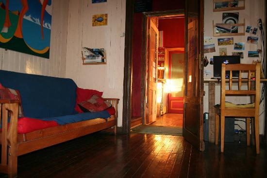 Patagonia Adventure: Sala de internet