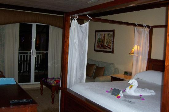 Sandals Grande St. Lucian Spa & Beach Resort: Our room (1209)