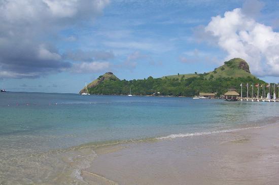 Sandals Grande St. Lucian Spa & Beach Resort: Very scenic