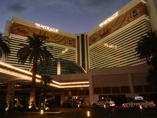The Mirage Hotel Outside
