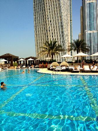 Grosvenor House Dubai: Tower one pool on the 4th floor.