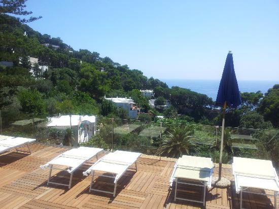 Hotel La Floridiana: terrazza piscina