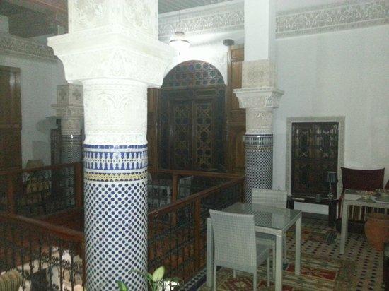 Riad Adarissa: hall primer piso