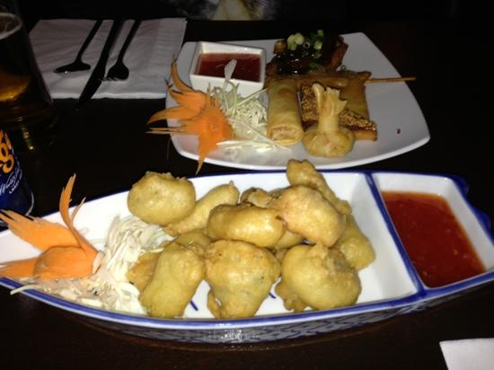 Siam Orchid: lovely starters