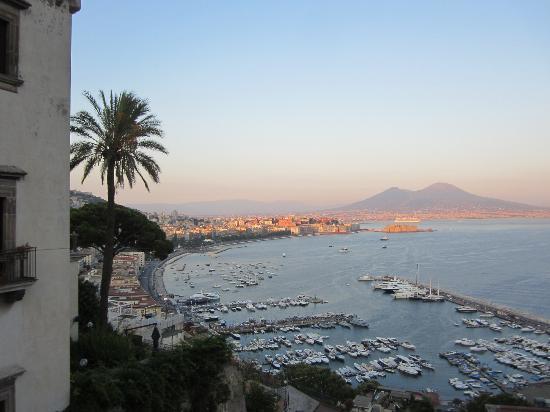 Best Western Hotel Paradiso: Aussicht Terrasse