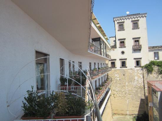 Best Western Hotel Paradiso: Balkon