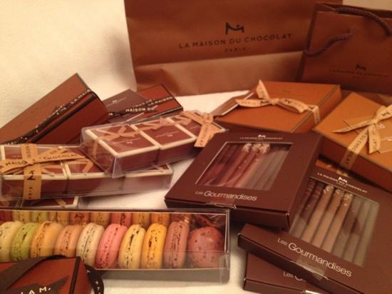 La Maison du chocolat : شوكولا