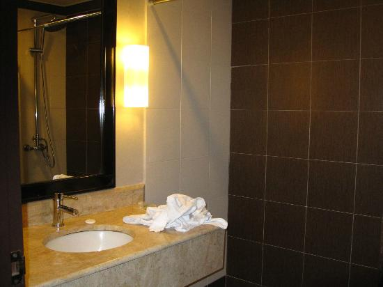 Mimosa Hotel: The bathroom