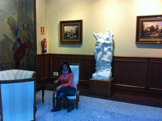 Madrid Marriott Auditorium Hotel & Conference Center: Lobby