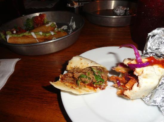 Taco Boy: taquitos and tacos