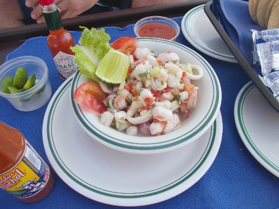 CasaMagna Marriott Puerto Vallarta Resort & Spa: Seafood Ceviche by the pool