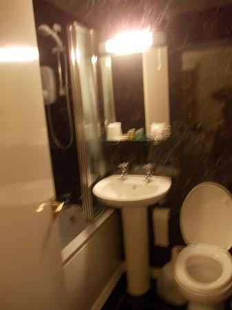 The Hafod Hotel: newly done bathroom