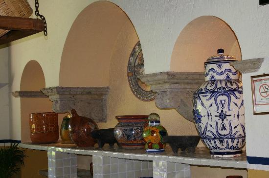 Hotel El Tapatio & Resort: Detalles muy mexicanos por todos lados