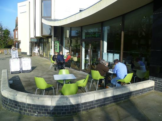 Cafe Paninis: Our Terrace