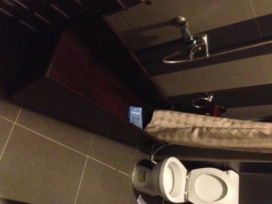 HueNino Hotel: funny little bath