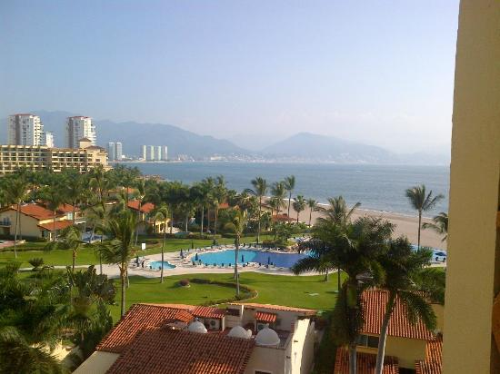 Velas Vallarta Suite Resort: Beautiful view from the 7th floor